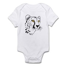Silhouette Cheetah Infant Bodysuit