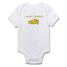 I Like Cheese! Infant Bodysuit