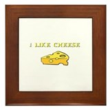 I Like Cheese! Framed Tile