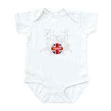 UK DRUM KIT Infant Bodysuit