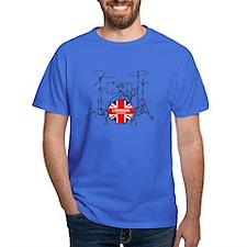 BRITISH DRUM KIT T-Shirt