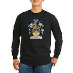 Hessen Family Crest Long Sleeve Dark T-Shirt