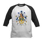 Hessen Family Crest Kids Baseball Jersey