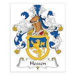 Hessen Family Crest Small Poster