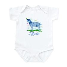 Labrador Butterflies Infant Bodysuit
