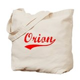 Vintage Orion (Red) Tote Bag