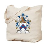 Henning Family Crest Tote Bag