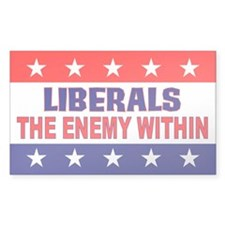 The Enemy Within Rectangle Decal