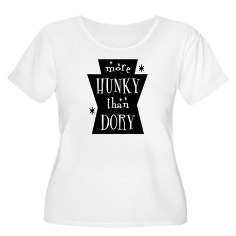 More Hunky Than Dory Women's Plus Size Scoop Neck