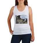 CAT NAP HUMOR Women's Tank Top