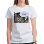 CAT NAP HUMOR Women's T-Shirt