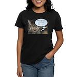 CAT NAP HUMOR Women's Dark T-Shirt