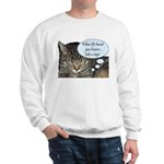 CAT NAP HUMOR Sweatshirt