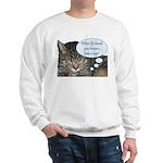 CAT NAP HUMOR Sweatshirt