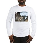 CAT NAP HUMOR Long Sleeve T-Shirt