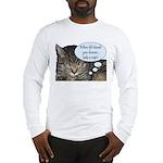 CAT NAP HUMOR Long Sleeve T-Shirt