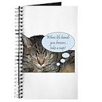 CAT NAP HUMOR Journal
