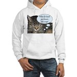 CAT NAP HUMOR Hooded Sweatshirt
