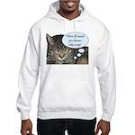 CAT NAP HUMOR Hooded Sweatshirt