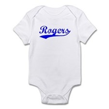 Vintage Rogers (Blue) Infant Bodysuit