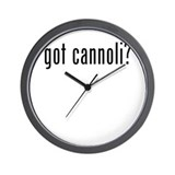 got cannoli? Wall Clock