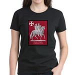 Knights Templar Women's Dark T-Shirt