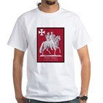 Knights Templar White T-Shirt