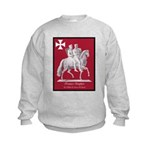 Knights Templar Kids Sweatshirt
