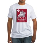 Knights Templar Fitted T-Shirt