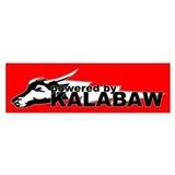 Powered By Kalabaw Filipino Philippines Bumper Sticker