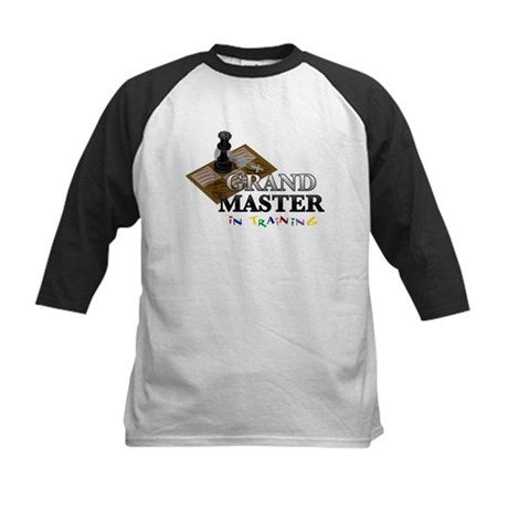 Grand Master in Training Kids Baseball Jersey