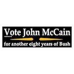 Vote John McCain bumper sticker