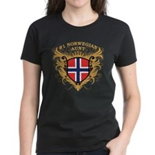 Number One Norwegian Aunt Tee