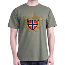 Number One Norwegian Dad T-Shirt