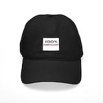 100 Percent Embryologist Black Cap