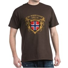 Number One Norwegian Uncle T-Shirt