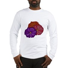 Gerber Daisy Bouquet Long Sleeve T-Shirt