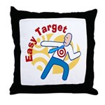 Easy Target Throw Pillow
