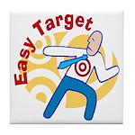 Easy Target Tile Coaster