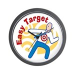 Easy Target Wall Clock