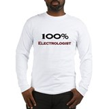 100 Percent Electrologist Long Sleeve T-Shirt