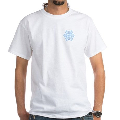 Flurry Snowflake XIX White T-Shirt