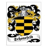 Schonefeld Family Crest Small Poster