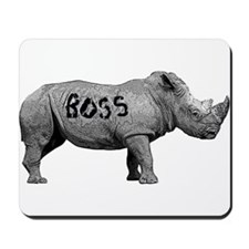 Boss rhino Mousepad