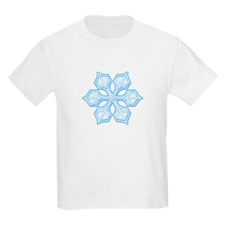 Flurry Snowflake XIX Kids Light T-Shirt