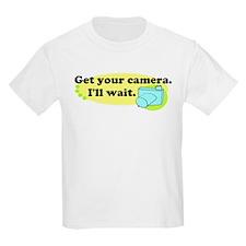 Get your camera Kids Light T-Shirt
