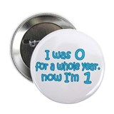 "Baby Boy-First Birthday 2.25"" Button"
