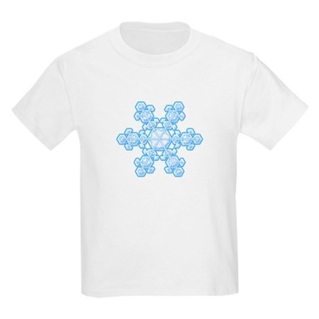 Flurry Snowflake XVII Kids Light T-Shirt