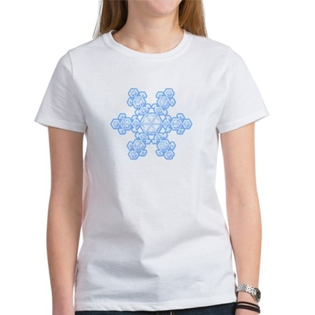 Flurry Snowflake XVII Women's T-Shirt