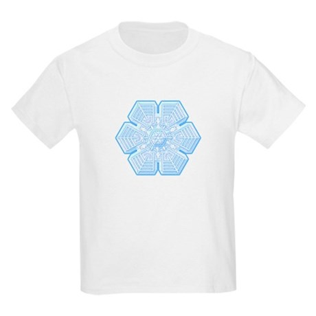 Flurry Snowflake XVI Kids Light T-Shirt